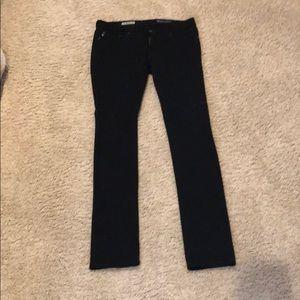 AG black pants, the legging super skinny fit